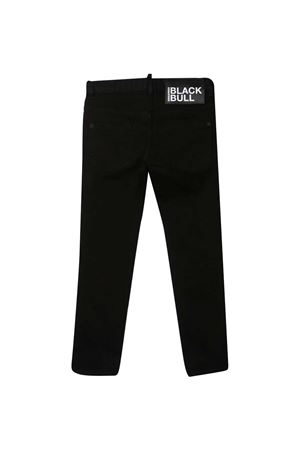 Straight teen jeans with Dsquared2 kids application DSQUARED2 KIDS | 9 | DQ0228D00IWDQ900T