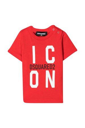 T-shirt rossa Dsquared2 kids DSQUARED2 KIDS | 8 | DQ0242D00MVDQ414