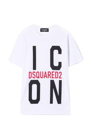 T-shirt con stampa Dsquared2 kids DSQUARED2 KIDS   7   DQ0243D002FDQ100