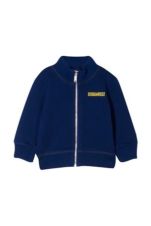 Giacca a righe con zip Dsquared2 Kids DSQUARED2 KIDS | -108764232 | DQ0247D002YDQ865