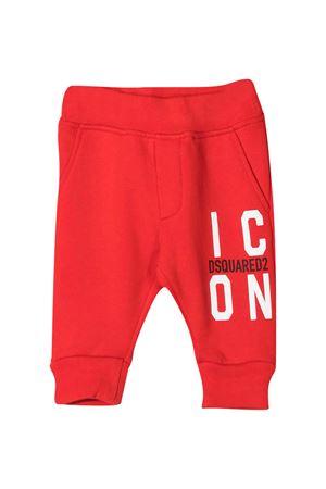 Pantaloni sportivi rossi Dsquared2 kids DSQUARED2 KIDS | 9 | DQ0249D002YDQ414