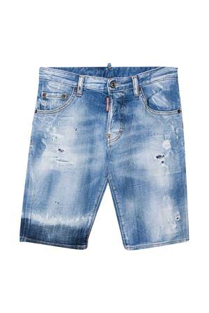 Shorts in denim teen Dsquared2 Kids DSQUARED2 KIDS | 30 | DQ024DD005JDQ01T