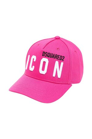 Cappello da baseball rosa Dsquared2 kids DSQUARED2 KIDS | 75988881 | DQ0269D00I8DQ313