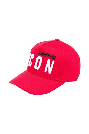 Cappello da baseball rosso Dsquared2 kids DSQUARED2 KIDS | 75988881 | DQ0269D00I8DQ415