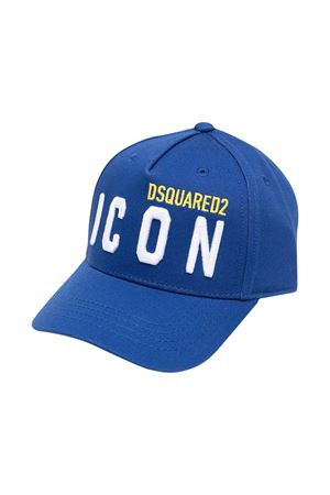 Cappello da baseball blu Dsquared2 kids DSQUARED2 KIDS | 75988881 | DQ0269D00I8DQ865