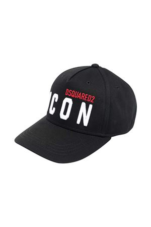 Cappello da baseball nero Dsquared2 kids DSQUARED2 KIDS | 75988881 | DQ0269D00I8DQ900