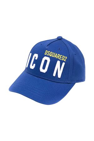 Cappello da baseball blu Dsquared2 kids DSQUARED2 KIDS | 75988881 | DQ0270D00I8DQ865