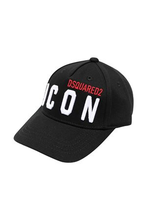Cappello da baseball nero Dsquared2 kids DSQUARED2 KIDS | 75988881 | DQ0270D00I8DQ900