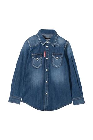Camicia denim teen Dsquared2 Kids DSQUARED2 KIDS | 5032334 | DQ02DGD005GDQ01T