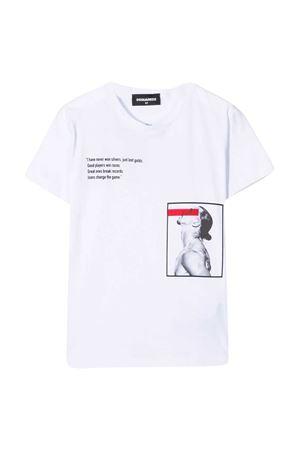 T-shirt Ibrahimovic Dsquared2 kids DSQUARED2 KIDS | 8 | DQ0345D00W5DQ100