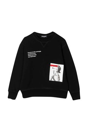 Sweatshirt with Icon DSQUARED2 KIDS x Ibrahimovic print DSQUARED2 KIDS | -108764232 | DQ0347D002YDQ900