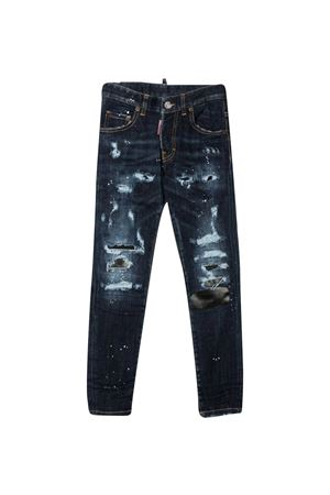 Dsquared2 Kids slim jeans with distressed effect DSQUARED2 KIDS | 9 | DQ03LDD005BDQ01