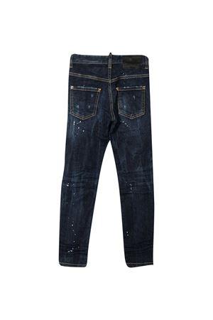 Jeans teen slim con effetto vissuto Dsquared2 Kids DSQUARED2 KIDS | 9 | DQ03LDD005BDQ01T
