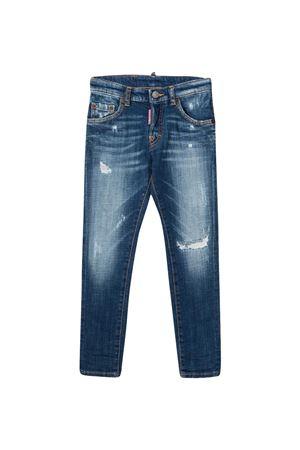 Dsquared2 Kids straight teen jeans  DSQUARED2 KIDS   9   DQ03LDD005HDQ01T