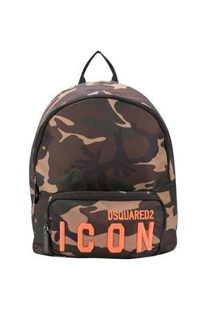Zaino verde Dsquared2 Kids DSQUARED2 KIDS | 31 | DQ04I7D002ZDQC03