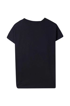 T-shirt teen blu con paillettes oro Elie Saab Junior ELIE SAAB JUNIOR | 8 | 3O8001OA060620ORT