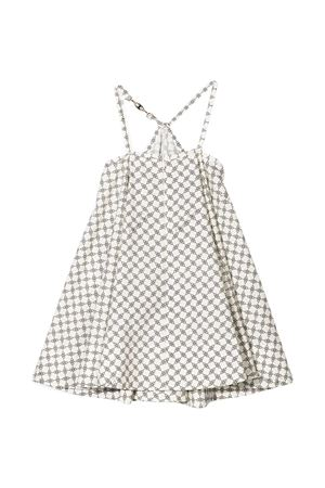 White dress  teen Elisabetta Franchi La Mia Bambinia  ELISABETTA FRANCHI LA MIA BAMBINA   11   EFAB353CF495WE033D022T