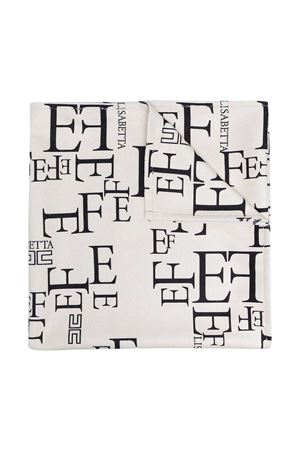 Elisabetta Franchi La Mia Bambini white towel  ELISABETTA FRANCHI LA MIA BAMBINA   616841551   EFAV610157WE0160014