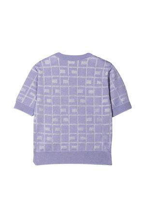 Lilac sweater teen Elisabetta Franchi La Mia Bambina  ELISABETTA FRANCHI LA MIA BAMBINA   7   EFMA78FL147WE0058006T