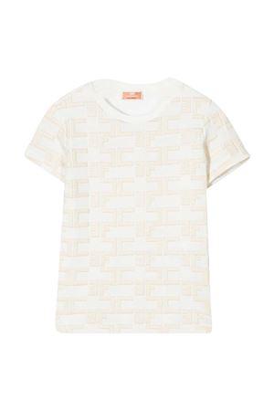 White teen t-shirt Elisabetta Franchi La Mia Bambina  ELISABETTA FRANCHI LA MIA BAMBINA   8   EFTS129JE95RICAWE0170016T
