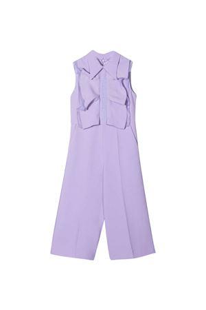 Lilac jumpsuit teen Elisabetta Franchi La mia bambina  ELISABETTA FRANCHI LA MIA BAMBINA   19   EFTU41GA85WE0048000T