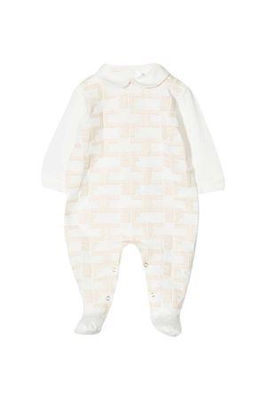 Pigiama bianco Elisabetta Franchi La mia bambina ELISABETTA FRANCHI LA MIA BAMBINA | 1491434083 | ENTU48JE95RICAWE0170016