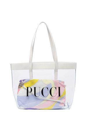 Borsa tote con stampa Emilio Pucci Junior EMILIO PUCCI JUNIOR | 31 | 9O0178OX270001