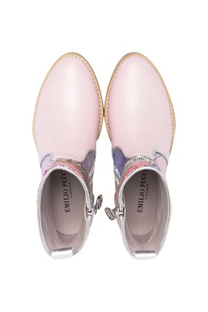 Pink Emilio Pucci Junior ankle boots  EMILIO PUCCI JUNIOR | 76 | 9O0306OX860500