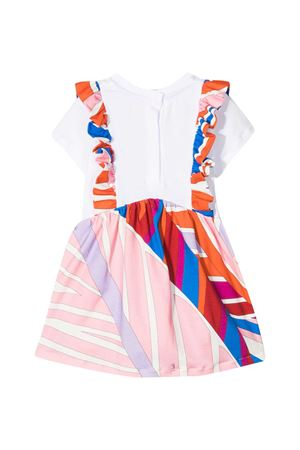 Emilio Pucci Junior patterned dress  EMILIO PUCCI JUNIOR | 11 | 9O1521OC500407AZ