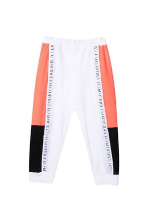 Pantaloni bianchi sportivi Emilio Pucci Junior EMILIO PUCCI JUNIOR | 9 | 9O6077OC290100AR