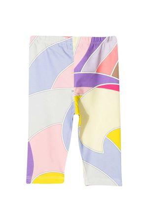 Multicolor Emilio Pucci Junior leggings  EMILIO PUCCI JUNIOR | 411469946 | 9O6550OC490204VI