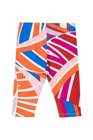 Multicolor Emilio Pucci Junior leggings  EMILIO PUCCI JUNIOR | 411469946 | 9O6550OC500407AZ
