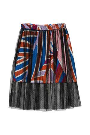 Emilio Pucci Junior patterned skirt  EMILIO PUCCI JUNIOR | 15 | 9O7045OC500407AZ