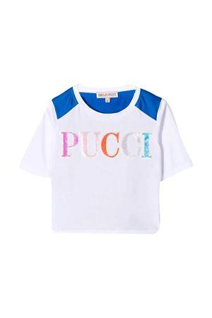 T-shirt con stampa Emilio Pucci junior EMILIO PUCCI JUNIOR   8   9O8071OC200100AZ