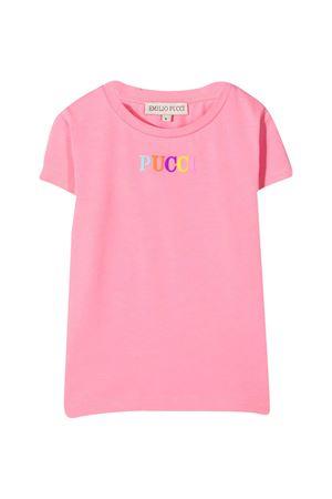 Emilio Pucci Junior pink t-shirt EMILIO PUCCI JUNIOR | 8 | 9O8211OC200510
