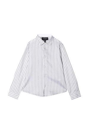 Camicia bianca a righe Emporio Armani kids EMPORIO ARMANI KIDS | 5032334 | 3K4C091NXTZF010
