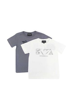 Set di t-shirt Emporio Armani Kids EMPORIO ARMANI KIDS | 75988882 | 3K4D014J09Z0101