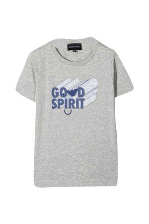 Set of T-shirts with Emporio Armani kids logo EMPORIO ARMANI KIDS | 75988882 | 3K4D024J09Z0668