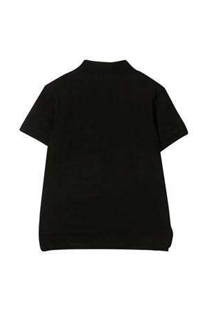 Black polo shirt with logo Emporio Armani kids EMPORIO ARMANI KIDS | 2 | 3K4FA91JVPZF036