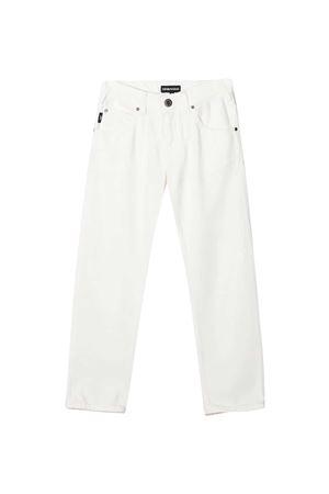 Jeans bianchi Emporio Armani Kids EMPORIO ARMANI KIDS | 9 | 3K4J453N4FZ0101
