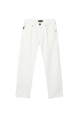 Jeans bianchi teen Emporio Armani Kids EMPORIO ARMANI KIDS | 9 | 3K4J453N4FZ0101T