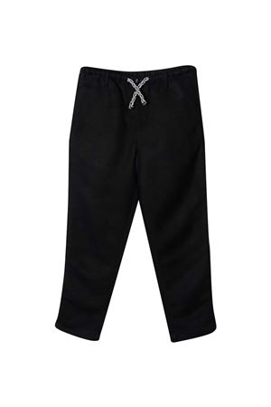 Emporio Armani kids blue trousers with drawstring EMPORIO ARMANI KIDS | 9 | 3K4P071NWZZ0920