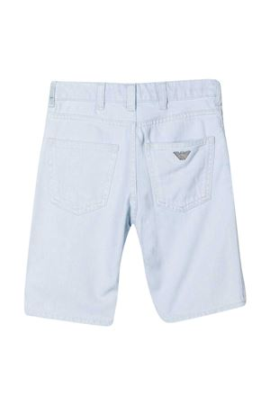 Light denim shorts teen Emporio Armani Kids  EMPORIO ARMANI KIDS | 5 | 3K4SJD4D2KZ0943T