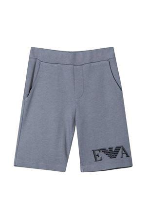 Emporio Armani Kids teen gray shorts  EMPORIO ARMANI KIDS | 30 | 3K4SP51JTNZ0668T