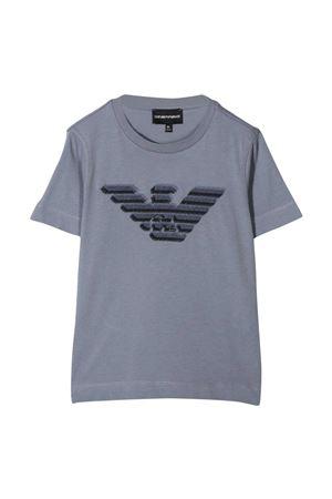 Emporio Armani Kids gray t-shirt  EMPORIO ARMANI KIDS | 8 | 3K4TC31JUCZ0668