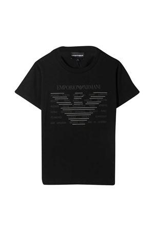 T-shirt nera teen Emporio Armani Kids EMPORIO ARMANI KIDS | 8 | 3K4TE11JULZ0999T