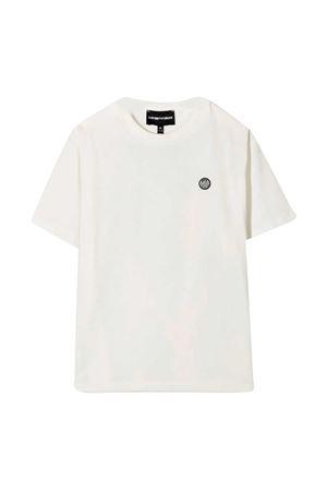 White t-shirt with logo Emporio Armani kids EMPORIO ARMANI KIDS | 8 | 3K4TJ24J4JZ0101