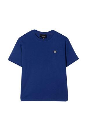 Blue t-shirt with logo Emporio Armani kids EMPORIO ARMANI KIDS | 8 | 3K4TJ24J4JZ0921