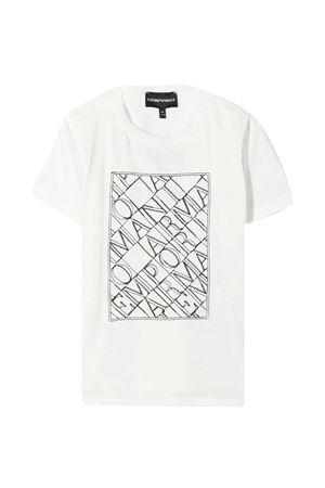 T-shirt bianca teen Emporio Armani Kids EMPORIO ARMANI KIDS | 8 | 3K4TM11JDXZ0101T