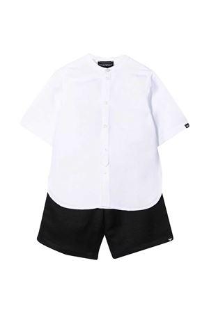 Emporio Armani kids shirt and shorts set EMPORIO ARMANI KIDS | 75988882 | 3K4VJE1NWZZ0105